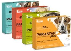Parastar Plus For Dogs & Puppies Up To 22 lbs, 3 Applications