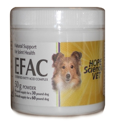 EFAC Joint Health Advanced Formula For Dogs & Cats, 50 g Powder