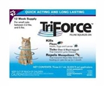 TriForce Feline Squeeze-On For Cats 2.2 to 5 lbs - 12 Week Supply