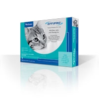 EFFIPRO Topical Solution For Cats, 3 Month Supply