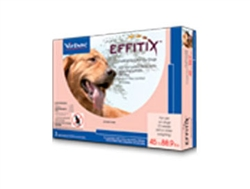 EFFITIX Topical Solution For Dogs, 45-88.9 lbs, 3 Month Supply