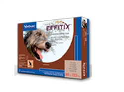 EFFITIX Topical Solution For Dogs 89-132 lbs, 3 Month Supply