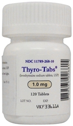 Thyro-Tabs (levothyroxine) For Dogs 1.0mg, 120 Tablets