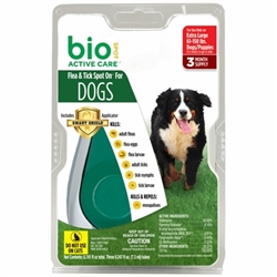 Bio Spot Active Care  Flea & Tick Spot On, Dogs 56-80 lbs, 3 Months