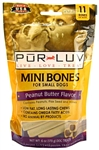 Pur Luv Mini Bones - Peanut Butter 6 oz, 11 Bones