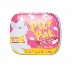 Pit'r Pat Cat Breath Treats - Liver, .43 oz