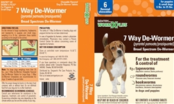 Sentry HC WormX Plus Small Dog, 2 Chewable Tablets
