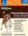 Sentry HC WormX Plus Small Dog, 6 Chewable Tablets