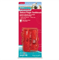 Petrodex Deluxe Finger Toothbrush Dog & Cat, 2 Count