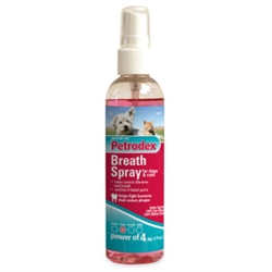 Petrodex Breath Spray For Dogs & Cats, 4 oz
