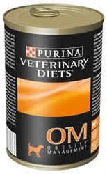 Purina OM Overweight Management Canine Formula, 12-13.3 oz Cans
