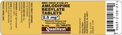 Amlodipine Besylate 2.5mg, 90 Tablets