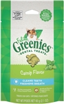 Feline Greenies Dental Treats - Catnip Flavor, 2.1 oz