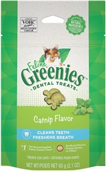 Feline Greenies Dental Treats - Catnip Flavor, 2.5oz