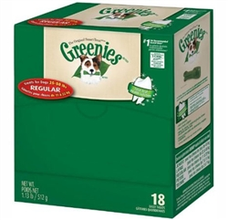 Greenies Mini-Me Merchandiser Treats For Dogs - Regular, 18 Treats