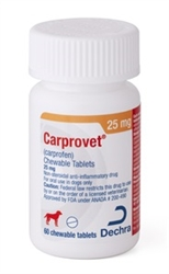 Putney Carprofen Chewable Tablets 25mg, 60 Count