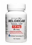 Meloxicam 7.5mg, 100 Tablets