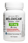 Meloxicam 15mg, 100 Tablets