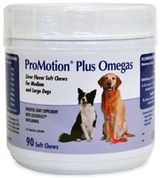 ProMotion Plus Omegas For Medium & Large Dogs, 90 Soft Chews