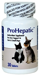 ProHepatic Liver Support For Cats & Small Dogs, 30 Tablets