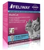 Feliway MultiCat Diffuser Plug-in Starter Kit 30 Day with Vial
