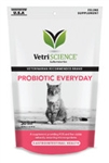 VetriScience Probiotic Everyday For Cats, 60 Bite-Sized Chews