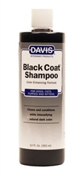Davis Black Coat Shampoo, 12 oz