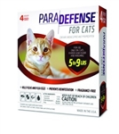 ParaDefense For Small Cats 5-9 lbs, 4 Pack