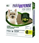 ParaDefense For Small Dogs 3-10 lbs, 4 Pack