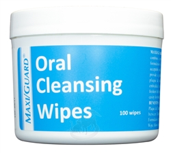 Maxi/Guard Oral Cleansing Wipes, 100 Wipes