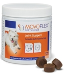 Movoflex Soft Chews Joint Support For Dogs Up to 40 lbs, 60 Soft Chews