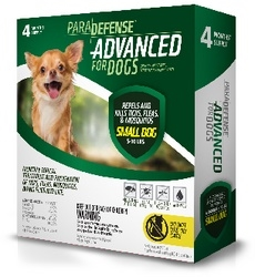 ParaDefense ADVANCED For Small Dogs 5-10 lbs, 4 Pack