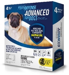 ParaDefense ADVANCED For Medium Dogs 11-20 lbs, 4 Pack