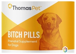 ThomasPet Bitch Pills, 120 Tablets