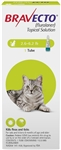 Bravecto (Fluralaner) Topical Solution For Small Cats 6.2-13.8 lbs