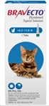 Bravecto (Fluralaner) Topical Solution For Medium Cats 6.2-13.8 lbs