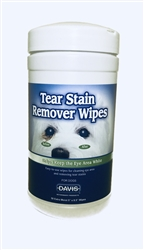 Davis Tear Stain Remover Wipes, 40 Count