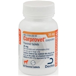 Dechra CarproVet (Carprofen) Flavored Tablets 25mg, 60 Count
