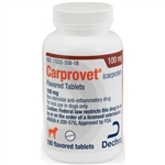 Dechra CarproVet (Carprofen) Flavored Tablets 75mg, 180 Count