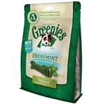 Greenies Freshmint Dental Chews for Dogs, Teenie, 43 Count