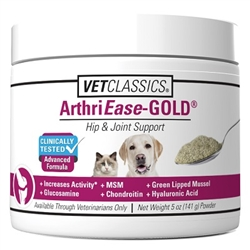 VetClassics ArthriEase-Gold Hip & Joint Formula, 4 oz Powder
