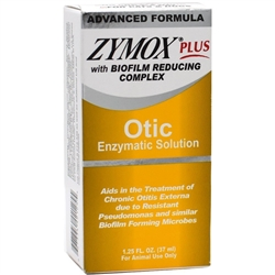 Zymox Plus Otic Enzymatic Solution, 1.25 oz