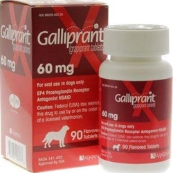 Galliprant 60mg, 90 Flavored Tablets