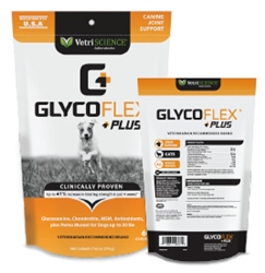 GlycoFlex Plus For Small Dogs Under 30 lbs, 60 Bite-Sized Chews