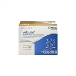 Vetsulin Vetpen Cartridge 40 IU/ml, 2.7 ml, 10 Vials
