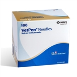 VetPen Needles, 29G X 12mm, 100/Box