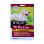 Nutri-Vet Pet-Ease Soft Biscuits for Dogs, 12 oz