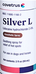 SilVet L Anesthetic Spray, 2 oz