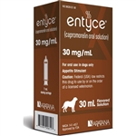 Entyce Appetite Stimulant Oral Solution for Dogs 30mg/ml, 30 ml