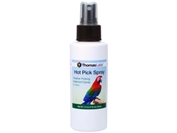 Thomas Labs Hot Pick Feather Picking Deterrent Spray, 4 oz